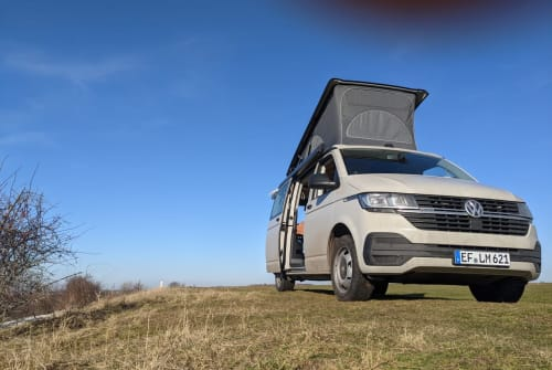 Hire a motorhome in Erfurt from private owners  VW Bulli Joseph