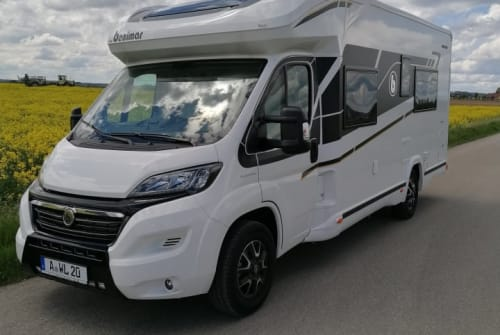 Hire a motorhome in Oberottmarshausen from private owners  Benimar Woodterminator2