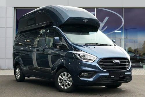 Hire a motorhome in Petersberg from private owners| Ford Blauer Blitz