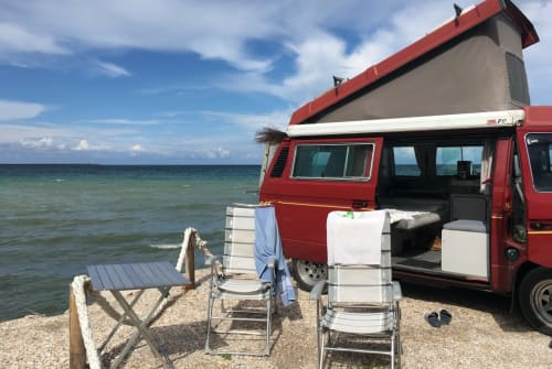 Hire a motorhome in Bayreuth from private owners| VW T3 California Miki