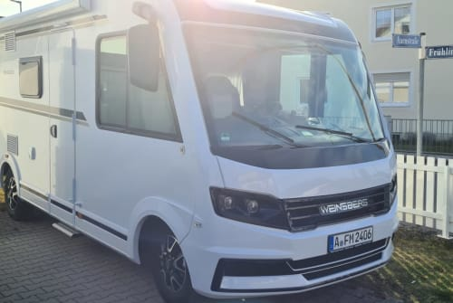 Hire a motorhome in Wehringen from private owners  Weinsberg Wohndose