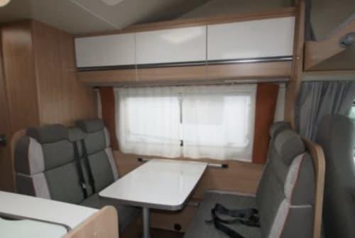 Hire a motorhome in Landau in der Pfalz from private owners| Capron Glücksmobil