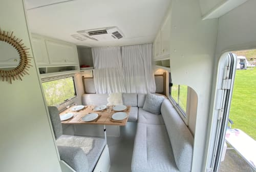Hire a motorhome in Castricum from private owners| Eura Mobil FrisWit