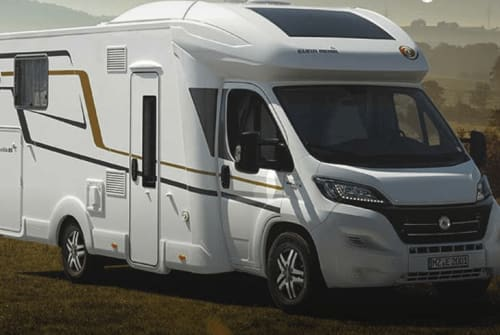 Hire a motorhome in Wasserburg am Inn from private owners  Eura Mobil Cat Car