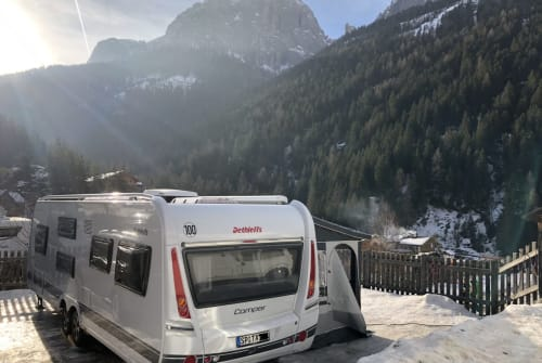 Hire a motorhome in Speyer from private owners  Dethleffs 20qmHappiness
