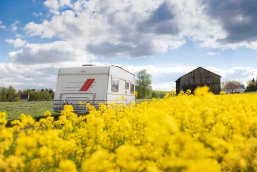 Hire a motorhome in Klingenberg from private owners  LMC Leo