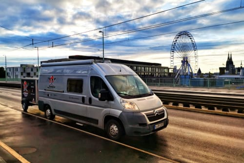 Hire a motorhome in Köln from private owners  Bavaria Camp - Citroen Jumper Likedeeler