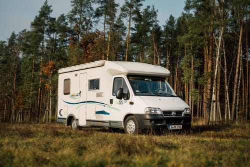 Hire a motorhome in Berlin from private owners| Fiat Kalle
