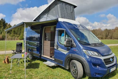 Hire a motorhome in Geltendorf from private owners  Knaus  Blaue Reise 2