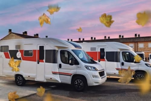 Hire a motorhome in Delbrück from private owners| Fiat LA MARCA 74