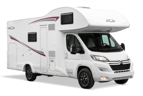 Hire a motorhome in Delbrück from private owners| P.L.A. Siena 440