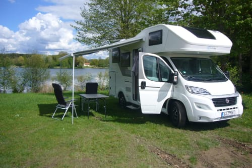 Hire a motorhome in Königsbrunn from private owners  Fiat Lillys Mobil