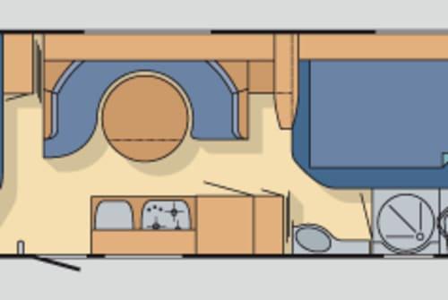Hire a motorhome in Rosenbach/Vogtl. from private owners| TABBERT Da vinci 5xBett