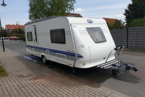 Hire a motorhome in Barby from private owners| Hobby Solarmobil