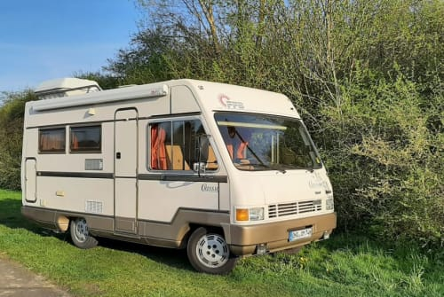 Hire a motorhome in Herzberg am Harz from private owners| Tabbert Tabbi
