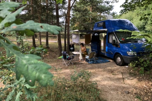 Hire a motorhome in Berlin from private owners  Ford Transit Blaues Monster