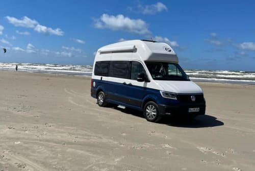 Hire a motorhome in Lübeck from private owners  Volkswagen MK Camper 606