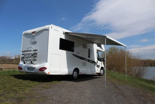 Hire a motorhome in Gera from private owners  XGO Hugo