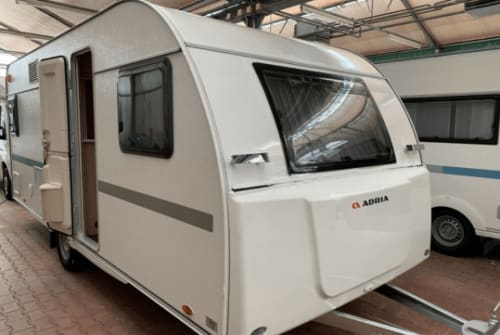Hire a motorhome in Gera from private owners  Adria  Adria Wohnwagen