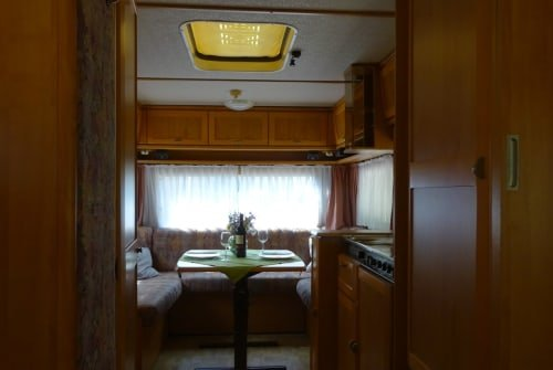 Hire a motorhome in Michelfeld from private owners| Hymer Eriba  Conny