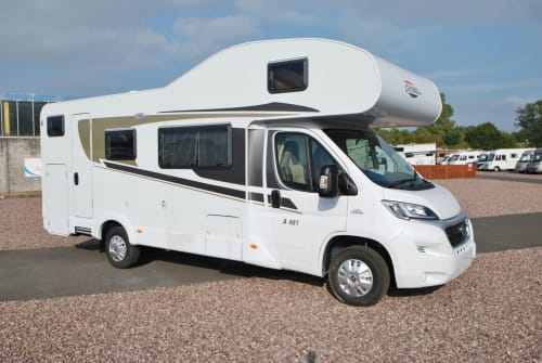 Hire a motorhome in Königsbrunn from private owners  Carado Burschn-Bus