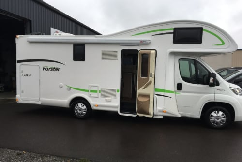 Hire a motorhome in Landsberg from private owners| Fiat Forsti 734
