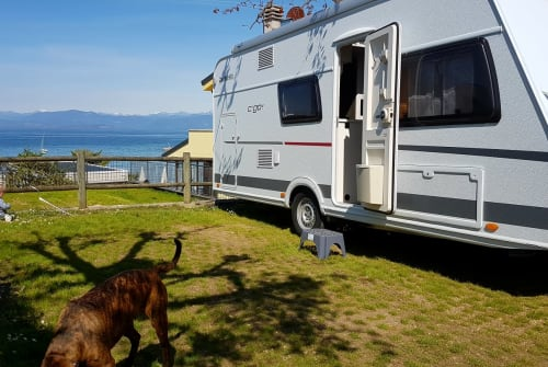 Hire a motorhome in Untersteinach from private owners| Dethleffs C`go 495 QSK