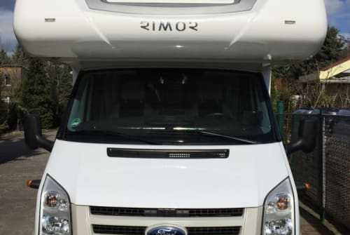 Hire a motorhome in Eberswalde from private owners  Rimor Wohni