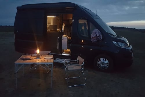 Hire a motorhome in Berlin from private owners  Hymercar  Tevje