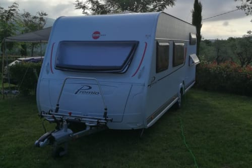 Hire a motorhome in Schwabhausen from private owners  Bürstner Jimmy
