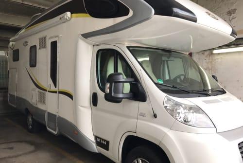 Hire a motorhome in Sinsheim from private owners  FIAT Multijet 130 MANNI