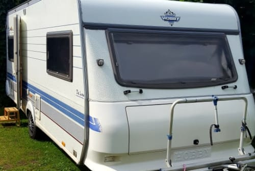 Hire a motorhome in Finsterwalde from private owners  Hobby Hobby 540 UL