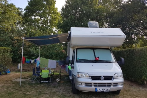 Hire a motorhome in Itzehoe from private owners| Hobby Gaia