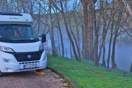 Hire a motorhome in Greven from private owners| Hobby Hobby