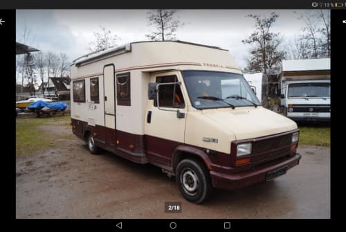 Hire a motorhome in Speyer from private owners| Frankia Franzi