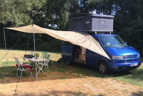Hire a motorhome in Dresden from private owners| Volkswagen Blaubär