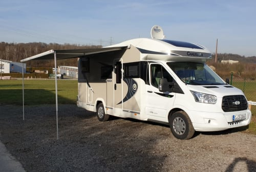 Hire a motorhome in Essen from private owners| Chausson Bruno Komfort