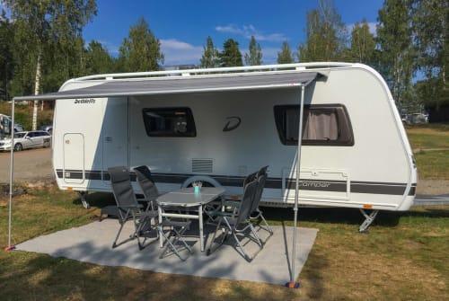 Hire a motorhome in Wernau (Neckar) from private owners| Dethleffs Camper
