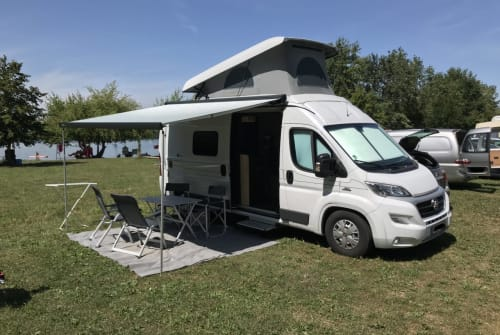 Hire a motorhome in Blaustein from private owners| Hymer NuNu