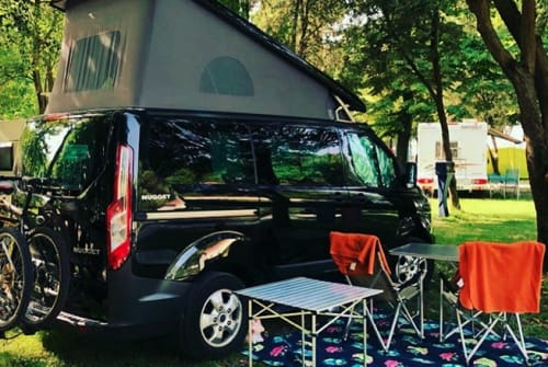 Hire a motorhome in Eichenzell from private owners| Ford BlackNugget