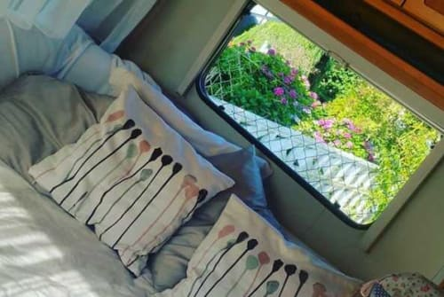 Hire a motorhome in Wolfenbüttel from private owners| Hymer WoWi