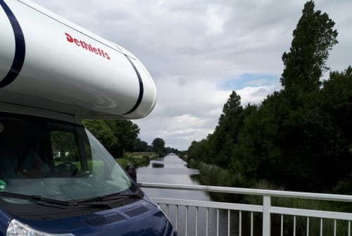Hire a motorhome in Himmelpforten from private owners  Dethleffs Marcello