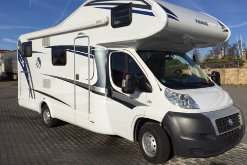 Hire a motorhome in Krostitz from private owners| Fiat Heinrich
