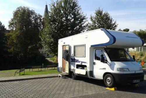 Hire a motorhome in Krefeld from private owners| Fiat Weinsberg Birgit und Ingo