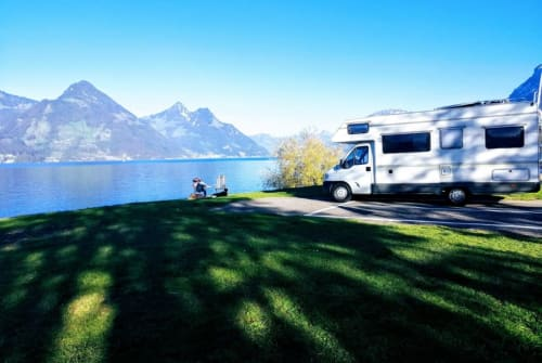 Hire a motorhome in Pfungstadt from private owners| FIAT  delfino