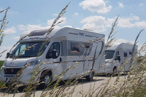 Hire a motorhome in Leipzig from private owners| Fiat Hummel
