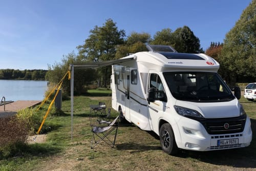 Hire a motorhome in Hanau from private owners| Eura Mobil Tony