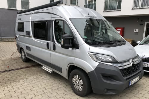 Hire a motorhome in Hallenberg from private owners| Pössl Breeze