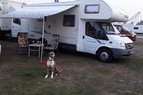 Hire a motorhome in Gailingen am Hochrhein from private owners| Ford Mr. Grey