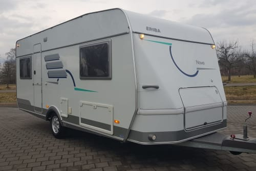 Hire a motorhome in Rostock from private owners  Hymer  Eriba 530